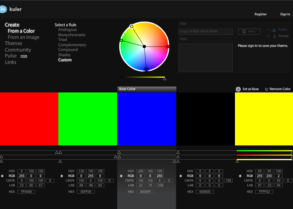 Hoe werkt kleur op je website?