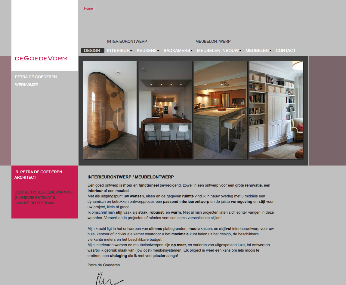 website interieurarchitect