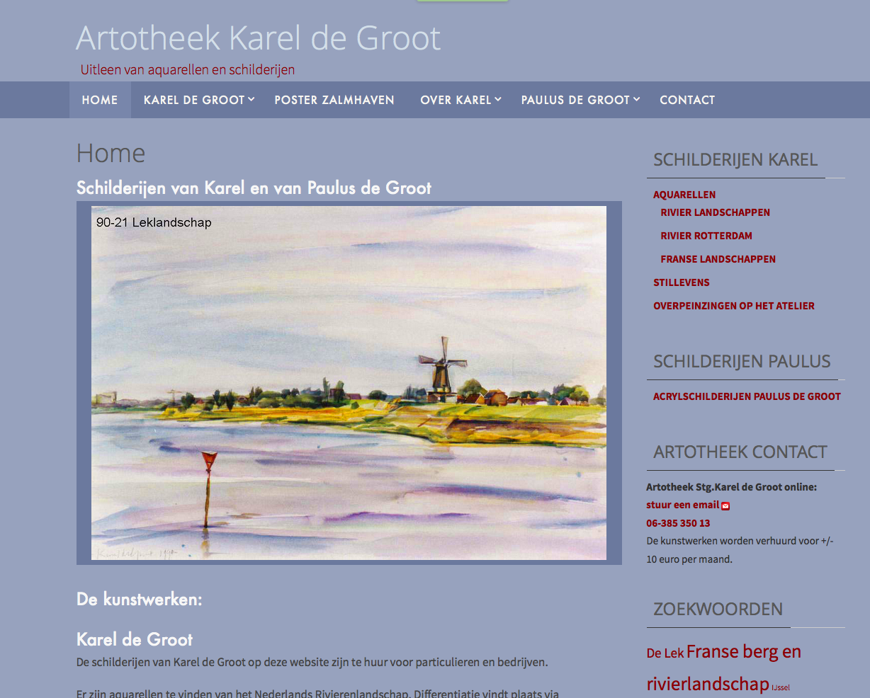 Website kunstuitleen