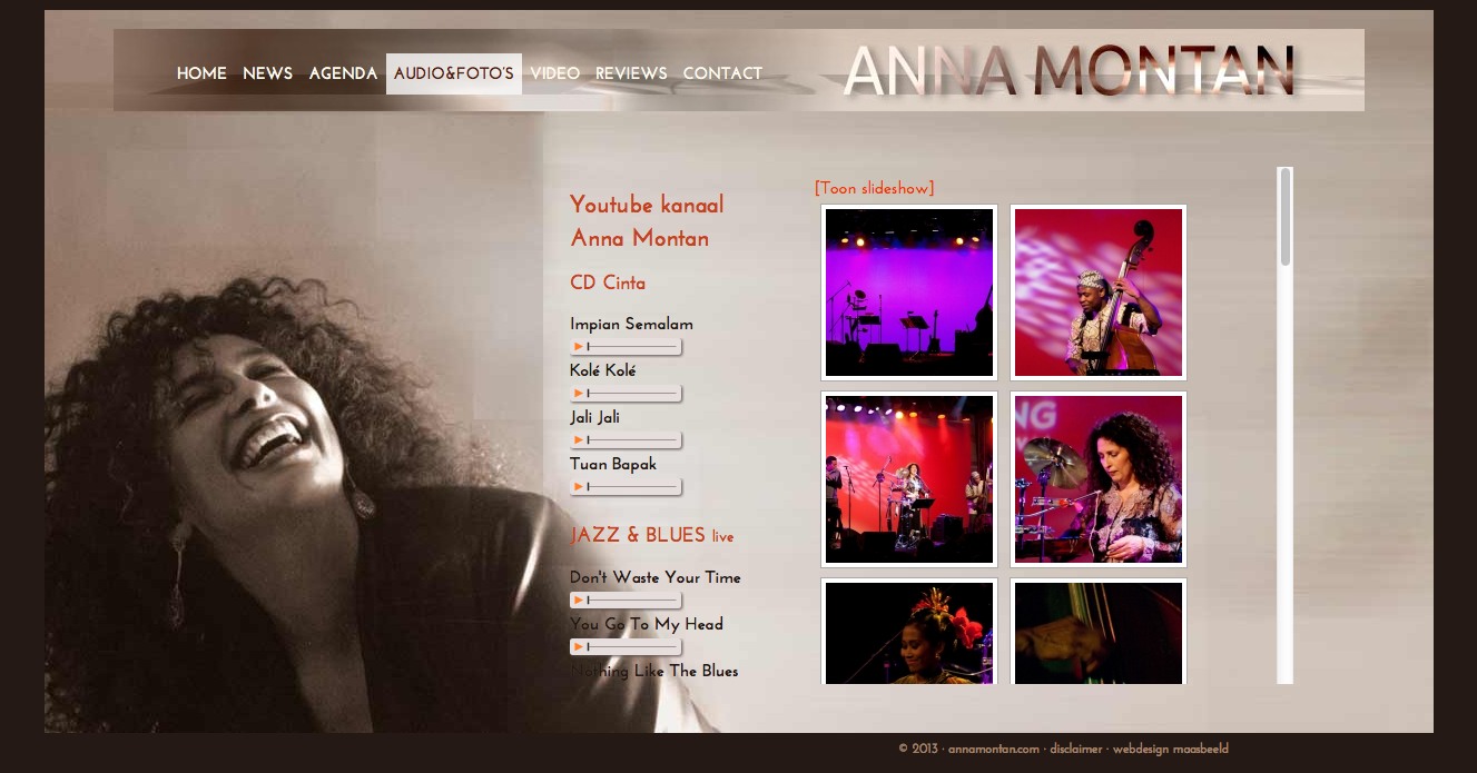 website annamontan