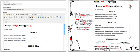 webdesign cms
