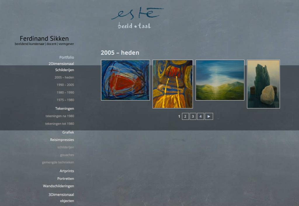 website este portfolio