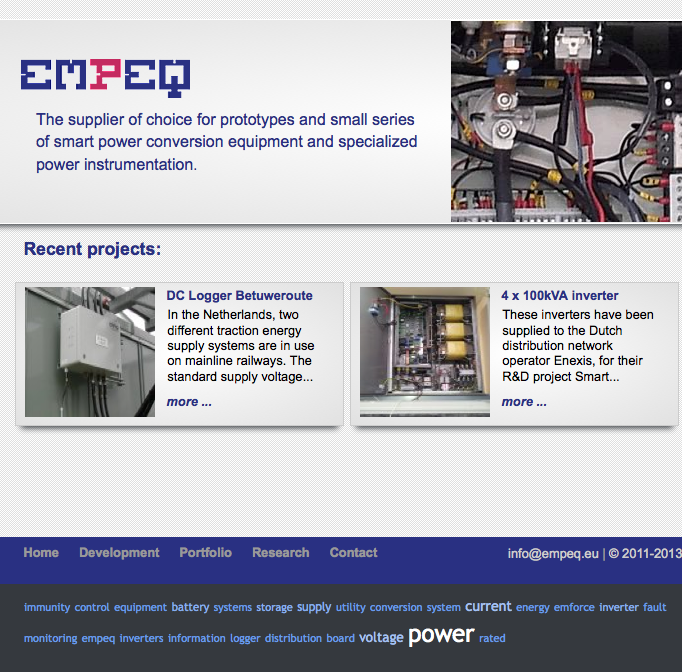 website supplier power instrumentation