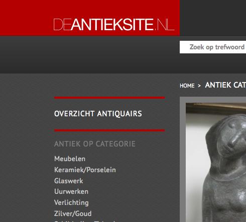 Website antiek