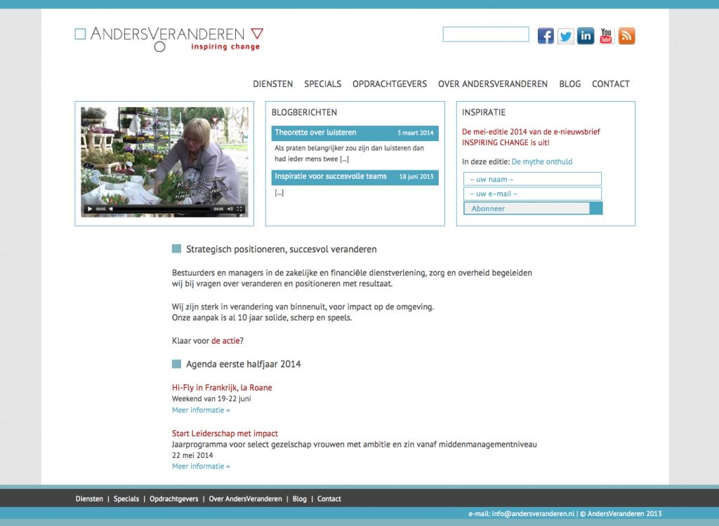 website ontwerp maasbeeld andersveranderen