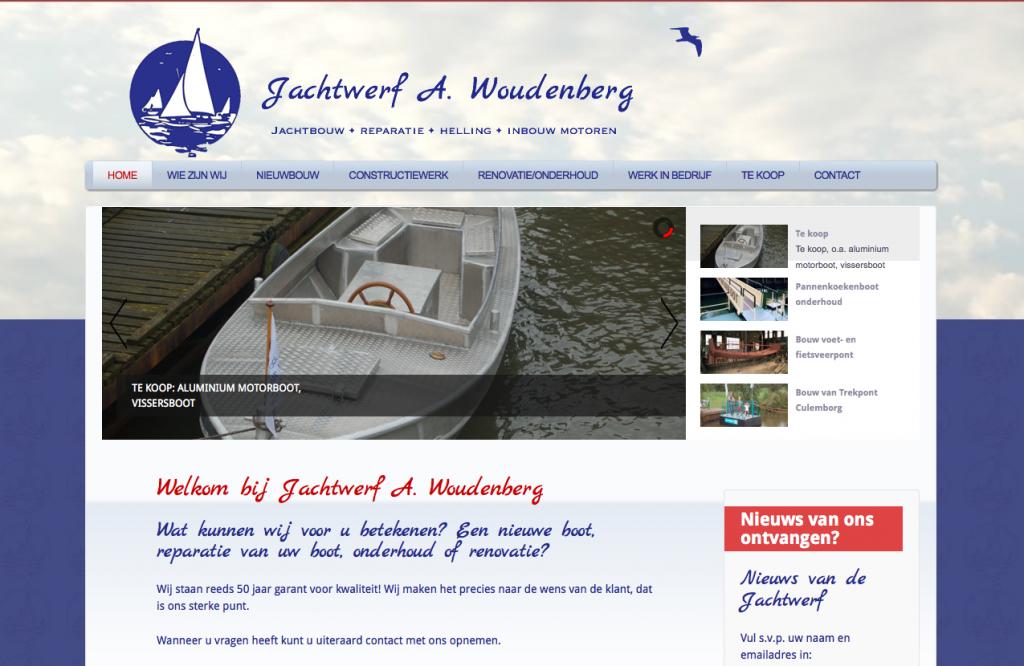 ontwerp website jachtwerf