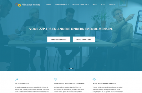 workshop website maken